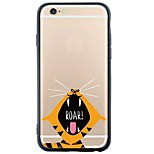 iphone SE de elefante / 5s / 5 de dibujos animados&giraffestpu suave de la contraportada