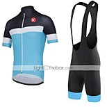 KEIYUEM®Others Short Sleeve Spring / Summer / Mountain Bike Cycling Clothing Bib Sets for Men/Women/ Breathable#41