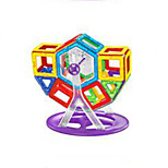 Changed Tyra Magnetic Blocks(94 Magnetic Pills,41 Pieces of Card,A Ferris Wheel, A Wheel)