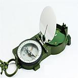 Compas/boussole Militaire / Pochette / Multi Function / Pratique Randonnées / Camping / Voyage / Outdoor Alliage de métal Vert