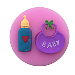 Feeding-Bottle /Baby Style Candy Fondant Cake Molds  For The Kitchen Baking Molds