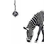 Animali / Natura morta / Moda / Tempo libero Adesivi murali Adesivi aereo da parete,PVC 90*60*0.1
