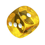 Royal St. Hit 18 Mm Color Round Resin Transparent Dice Games Which Environmental Protection Material 10 / Package