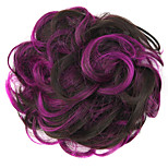 Wig Purple 5CM High-Temperature Wire Color Hair Ring Colour 2/33-FV01