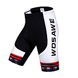 Wosawe Cycling Bottoms / Shorts / Padded Shorts Women's / Unisex Bike Breathable / Quick Dry / 3D Pad / Limits Bacteria / Sweat-wicking