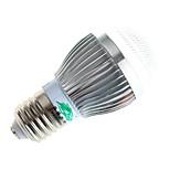 3W E26/E27 Lâmpada Redonda LED A60(A19) 10 COB 280lumens lm Branco Quente / Branco Natural Decorativa AC 100-240 V 1 pç