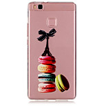 Macaron Pattern TPU Material Phone Case for Huawei P9/P9 Lite