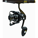 Long Distance Cast Fishing Spinning Reel 4000 , 12+1 BB Metal Seat Handle