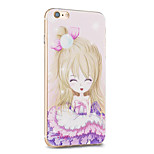Kakashi Flower Princess Series TPU Painting Soft Case for iPhone 6s / 6 /6s Plus / 6 Plus(Dandelion)