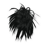 Wig Black 10CM High-Temperature Wire bloom bud Colour 2