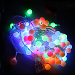 10m führte Lichterketten mit 100LED Kugel 220 VAC Feiertagsdekoration Lampe Festival Weihnachtsbeleuchtung Außenbeleuchtung