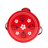 Wood Random Child Tambourine for Children All Musical Instruments Toy Random Delivery
