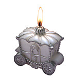 The Carriage Candles Christmas Gift Decoration 7.2*4*7.2CM