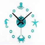 Moderne/Contemporain Autres Horloge murale,Autres Acrylique 30*30*1 Horloge
