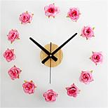 Romantic Rose DIY Wall Clock