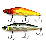14.8cm 48.5g/Pcs Lures Bait Swimming Layer Full-VIB Lure Hard Bait Fishing Bait Fishing Boat Lure Road Asia Bait 1PC