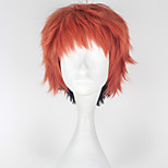 Cosplay Wigs Cosplay Nick Red Short Anime Cosplay Wigs 32 CM Heat Resistant Fiber Male