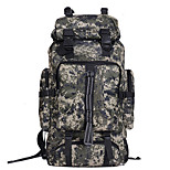 2016 Travel Bag 80L Sport Camouflage Mountaineering Bag Men And Women Waterproof Hiking Camouflage Backpack