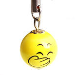 Titter face ceramic mobile phone chain