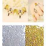 1bag Nail Art Décoration strass Perles Maquillage cosmétique Nail Art Design