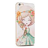 Kakashi Blume Prinzessin Serie tpu Malerei weichen Fall für iphone 6s / 6 / 6S plus / 6 plus (bignonia grandi)
