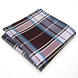 Men Purple 100% Silk  Pocket Square Business Fashion