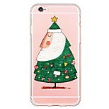 iPhone 6s Plus/6 Plus / iPhone 6s/6 TPU Cartoon Translucent Back Cover