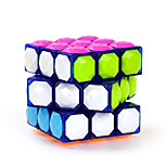 Magic Cube IQ Cube Yongjun Three-layer Diamond Smooth Speed Cube Magic Cube puzzle Blue ABS