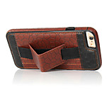 Tortoise Shell Texture Leather Card Slot Hand Under Back Shell Bracket Cases for Huawei P8 Lite Series Cases