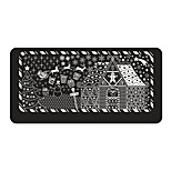 BlueZOO Ebay Blue Rectangle Nail Art Stamping (17)