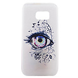 Back Pattern Cartoon TPU Soft Eye Case Cover For Samsung Galaxy S7 edge plus / S7 edge / S7