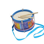 Wood Blue Child Hand Drums for Children All Musical Instruments Toy
