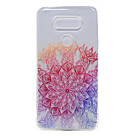 TPU Thin Transparent Lucky Flower for LG G5 / K7