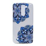 TPU Material Diagonal Flower Pattern Slim Phone Case for LG G5/K7
