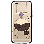 iPhone SE/5s/5 TPU Little Girl Soft Back Cover