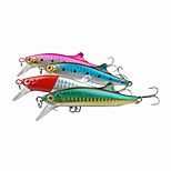 1pcs Hard Bait Minnow Sinking Plastic Fishing Lure