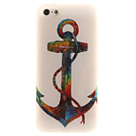 TPU Material + IMD Crafts Perfect Fit Helium Anchors Pattern Cellphone Case for iPhone 5/5S/ SE