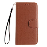 Litchi Grain Flip Leather Wallet Case Stand Cover For Samsung Galaxy S3 I9300 /S4 I9500 /S5 I9600