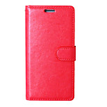PU Leather Case Photo Frame Wallet Book Cover For LG K7 /K10/ G5 /Zone 3 Crazy Horse Grain Cover With 9 Card Slots
