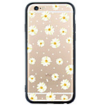 iPhone SE/5s/5 TPU Soft Flower&Four Leaf Clover Back Cover