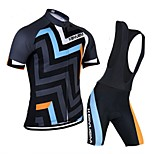 KEIYUEM®Others Unisex Short Sleeve Spring / Summer / Autumn Cycling Clothing Bib Suits/ Breathable Quick Dry#15