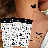 20Pcs/Lot Waterproof Lovely Super Cute Butterfly Cross Pattern Design Temporary Tattoo Stickers