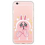 iPhone 6s Plus/6 Plus / iPhone 6s/6 TPU  Little Rabbit Translucent  Back Cover