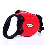 Dog Collar / Leash Adjustable/Retractable Red / Black / Blue / Gray Plastic / Nylon
