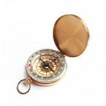 Fulgor dourado de bolso virar relógio bússola bússola