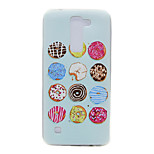 TPU Material Donuts Pattern Slim Phone Case for LG G5/K7