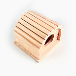 Hamster Wood Cabin Wooden Toy 1 Piece