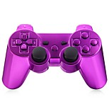 draadloze bluetooth gamepad game console voor ps3 verguld (multicolor)