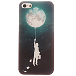 TPU Material + IMD Crafts Perfect Fit Helium Balloon Pattern Cellphone Case for iPhone 5/5S/ SE