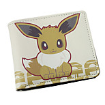 Inspired By Pocket Little Monster Eevee PU leather Wallet